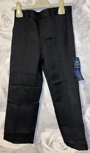Boys Age 4-5 Years - BNWTS School Uniform Trousers - Black