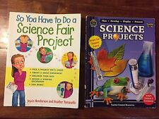 Science Fair Project Duo of Books Grades 3-6