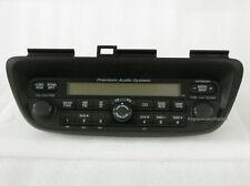 Honda Odyssey AM FM XM DVD NAV Premium radio control head. OEM factory receiver