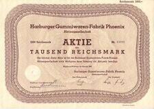 HARBURGER ARTICLES en CAOUTCHOUC-Usine Phoenix AG 1942 Harburg-Wilhelmsburg