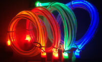 GLOW LED USB 3.0 light data sync charger Cable FOR samsung galaxy s5 & note 3