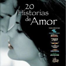 FREE US SHIP. on ANY 2 CDs! NEW CD Various Artists: 20 Historias De Amor