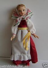 Porcelain doll handmade in national costume-Vologda Russia   № 14