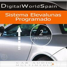 KIT MODULO SUBIR ELEVALUNAS AUTOMATICAMENTE PARA 2 VENTANILLAS PACK CONFORT