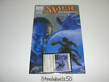 Magic the Gathering Spell Thief #1 Comic IDW Arrest PROMO MTG Card Forbeck NEW