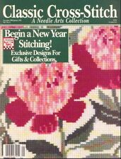 CLASSIC CROSS STITCH ~ Dec 1990 / Jan 1991 ~20 Projects