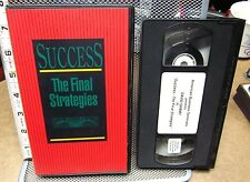 DAVID SHAMY Success Final Strategies VHS investment American Business Seminars