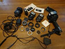 Lot of 35mm Miscellaneous Brand Camera Accessories (Untested) *AS-IS*