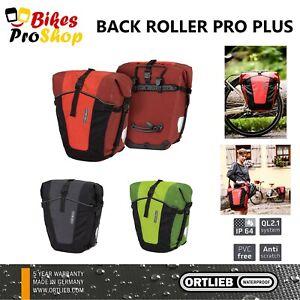 ORTLIEB Back Roller PRO PLUS (Pair) - Bike Bicycle Panniers Bags GERMANY 2021