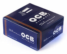 1 box OCB ULTIMATE Slim King Size Rolling paper - 1600 papers