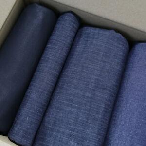 2,58kg Rest Stoff Paket robuste Baumwolle Jeans strecht Denim Oberkleidung Hose