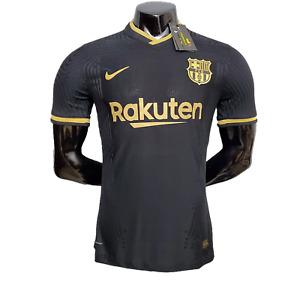 Fc Barcelona Away Messi #10 Player Version Vapor knit Soccer Jersey Size S-2XL