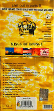 Chill Out In Paris 6 Introduces Kings Of Lounge  CD SEALED SIGILLATO