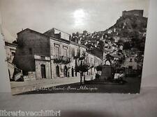 Vecchia cartolina foto d epoca di S. lucia del mela messina piazza milite ignoto