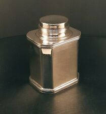 VINTAGE ART DECO L.B.S. CO. LAWRENCE B SMITH SILVER PLATED CONTAINER & LID #500