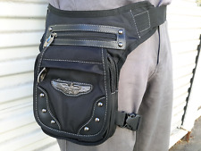 ❤️ MYSTIC BAG WAIST LEG HIP HOLSTER PURSE POUCH BELT BAG BLACK STEAMPUNK ❤️