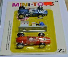 Zee Toys Mini-Toys Race Car Set with Pump New