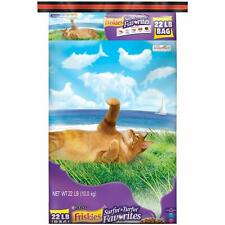 Purina Friskies Surfin & Turfin Favorites Adult Dry Cat Food (Packaging 22 Lb)