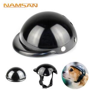 Dog Cat Helmet Hat Safety Outdoor Motorcycle Bike Helmet Cap Pet Supplies Hat