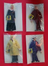 Dick Tracy Applause Dolls With Tags Madonna, Prune Face, Flat Top and Dick Tracy