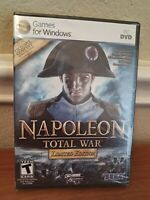 NAPOLEON: TOTAL WAR Limited Edition PC DVD Video Game NEW SEALED