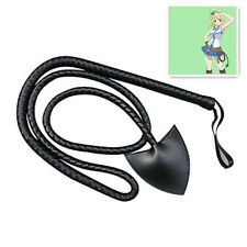 New Japan Anime Fairy Tail Cosplay Whip Props Pu Leather Lash Decoration