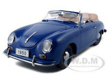 1950 PORSCHE 356 CONVERTIBLE BLUE 1:18 DIECAST MODEL BY SIGNATURE MODELS 38201