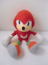 SONIC THE HEDGEHOG Knuckles Plush Soft Toy by IMPACT SEGA Rare Doll