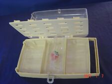 vintage AVANT  plastic  sewing storage box  spool holder WITH HANDLE