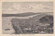 SANTOS ( Brazil) : Vista Geral.Quadro de B.Calixto