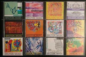 BRUTON MUSIC - JOBLOT OF 12 CDS - LOT 1