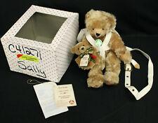 Hermann-Spielwaren Mohair Bear Pocket Bag/Purse Ltd 00006000 . 230/500 w/Oktoberfest Pin
