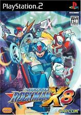 Used PS2 CAPCOM ROCKMAN  X 8  SONY PLAYSTATION JAPAN IMPORT
