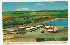 More details for hovercraft postcard ramsgate international hoverport kent vintage used 1979