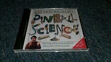 DK David Macaulay's Pinball Science Games CD Rom Game Software Energy Gravity