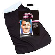 hommes religieuse prêtre Accessoire Déguisement PRETRE bavoir col + moustache