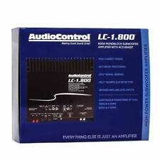 AudioControl LC-1.800 800W RMS Monoblock 2-Ohm Stable Stereo Car Audio Amplifier