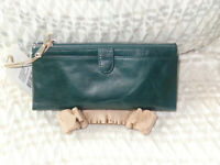 Hobo International TAYLOR  Leather Wallet - EVERGREEN  NWT