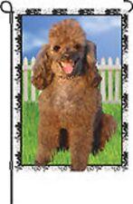 Jenna the Poodle Dog Garden Flag.4. Pr 51793