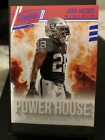 "2020 Panini Prestige Josh Jacobs SP Blue Foil XP ""Powerhouse""🏈Raiders"