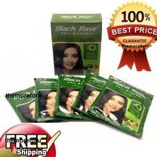 Black Rose Black Mehandi Herbal Henna Powder Gray style Hair Dye Color 5 X 10 GM