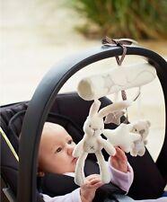 Infant Newborn Baby Pram Bed Bells Hanging Cute Toys Animal Handbells Rattles -G