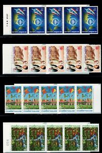 Thailand 1994-1996 27 different booklets from set BK 29 Low start High Cat.value