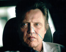 Christopher WALKEN SIGNED Autograph 10x8 Photo AFTAL COA American Actor