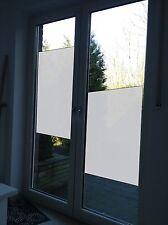 Fensterfolie Dusche Sichtschutzfolie Badezimmer ohne Motiv ca. 0,6 x 2 m