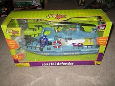 Just Kidz Coastal Defender Navy Unit N90 Boat & Helicopter MIB See My Store