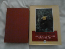 TWO (2) books on FLORA/PLANTS OF CALIFORNIA