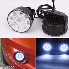 2X  LED SMD Daytime Driving Running Light DRL Car Fog Lamp Head Light For Toyota