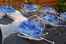 Hochzeit Auto Dekorationen Hochzeit Blumen Königsblau Schmetterlinge D Blau