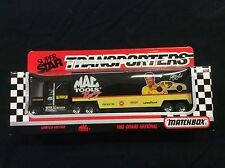 Matchbox Superstar Transporters Mac Tools Racing Harry Gant